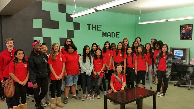 Girls Inc. visits the MADE.