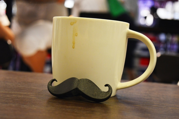 Give your coffee mug a Mustache!