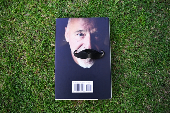 Give your book a Mustache today!