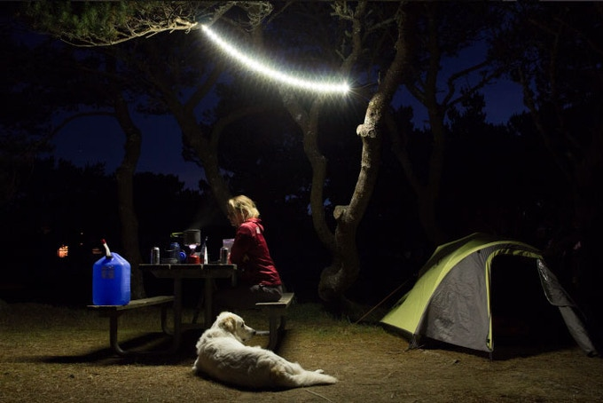 Light up your entire campsite.