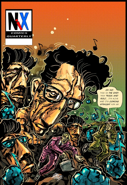Cover by John Jennings