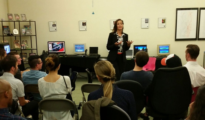 Oakland Mayor Libby Schaff visits the MADE.