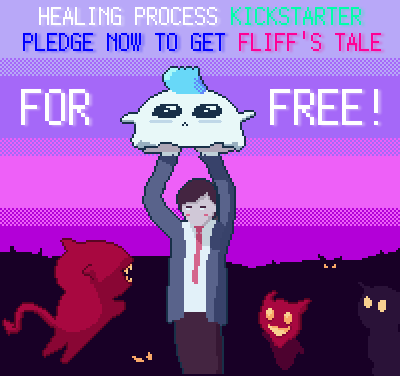 Get Fliff's Tale for Free when you support Healing Process: Tokyo at the first tier or above.