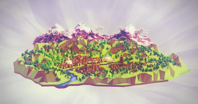 Hope for Kathmandu - an A4 poster by Zoubein Rana
