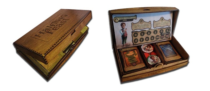 Wooden Box Edition (with optional Halfling Dials included)