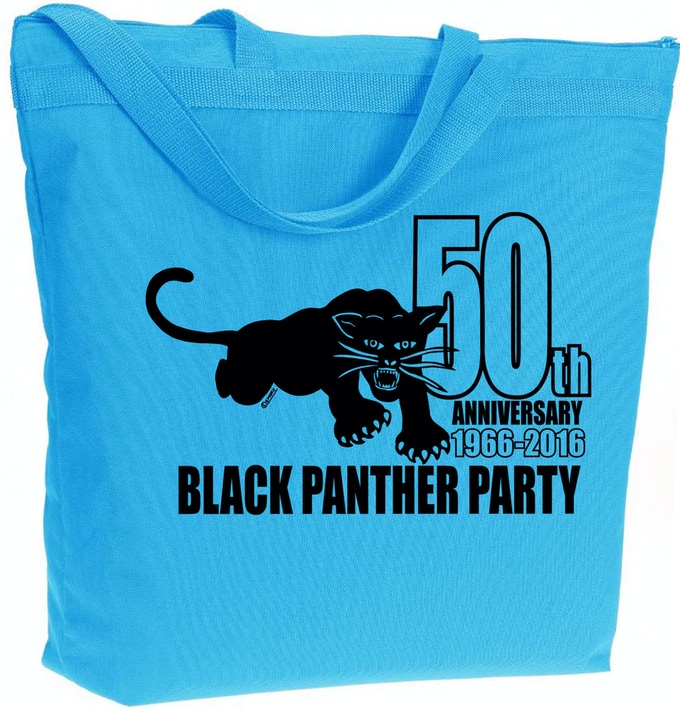 Black Panther Party 50th Anniversary Commemorative Tote Bag.