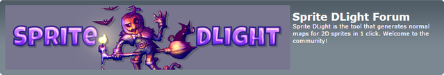 Sprite DLight Forum at 2deegameart.com