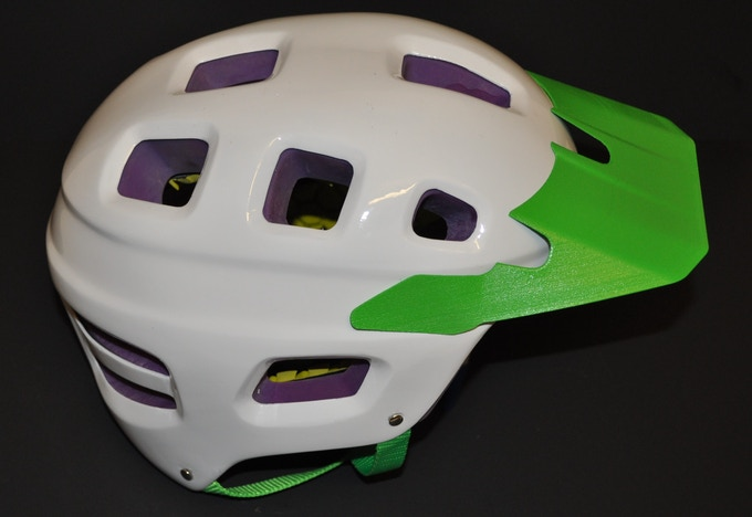 The purple padding provides amazing shock absorption for those large hits and it helps reduce the rotational force of an impact. The yellow padding absorbs the smaller hits and provides a comfortable fit to your head