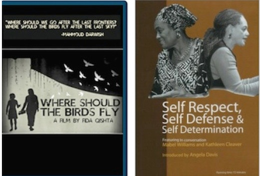 Where Should The Birds Fly DVD (60 min) - the people of Gaza struggle to maintain hope and humanity in the wake of 2008-2009 Israeli attack;       Self-Respect, Self-Defense, Self-Determination (Mabel Williams and Kathleen Cleaver)  - DVD