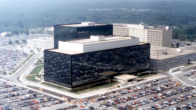 NSA HQ, Fort Meade -where the story unfolds