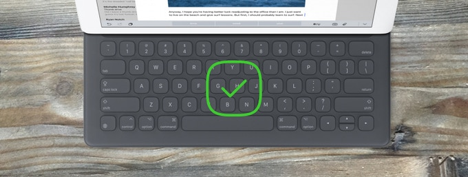 Size to fit Smart Keyboard