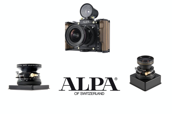 ALPA 12 SWA with ALPA HR ALPAGON 70mm 5.6 and ALPA APO-HELVETAR 48mm 5.6
