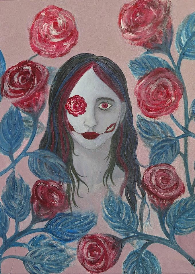 Roses I 5x7