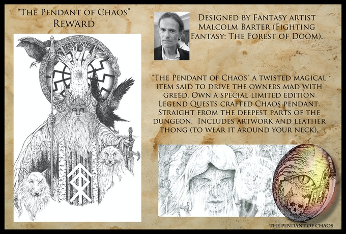 Malcolm Barter: The Pendant of Chaos
