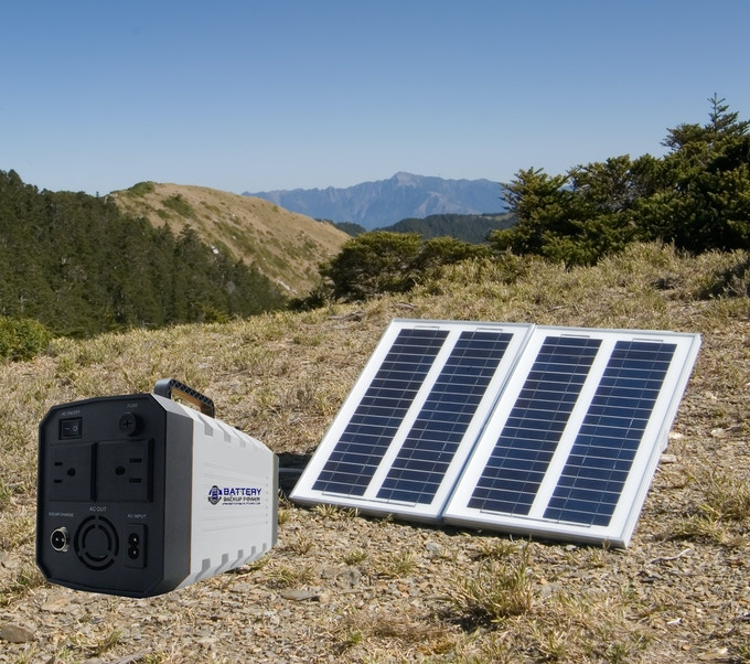 Solar Panel Rechargeable