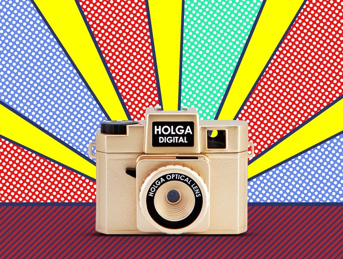 Kickstarter Golden Limited Edition = Holga Collector Master Piece (Only 100pcs will ever be made)