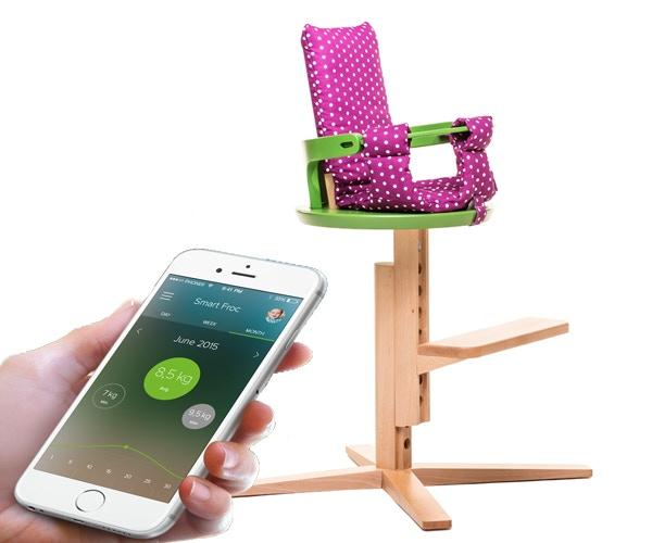 Smart Froc, world's first smart highchair.