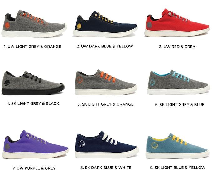 Baabuk UrbanWooler Sneaker Collection