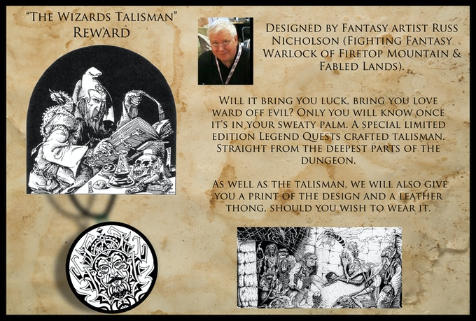 Russ Nicholson: Wizards Talisman