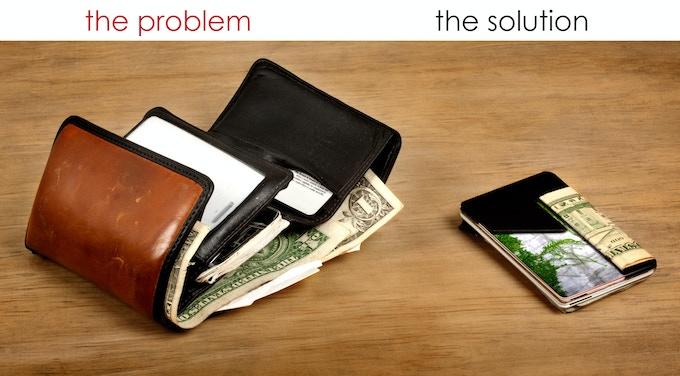 richie wallet vs. edwin classic