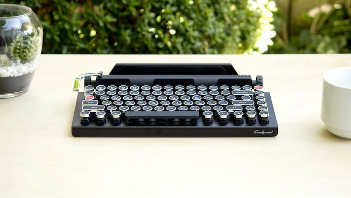 Typewriter-Inspired  Mechanical Keyboard™