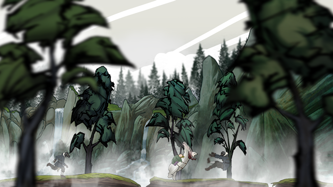 An early Spring screenshot