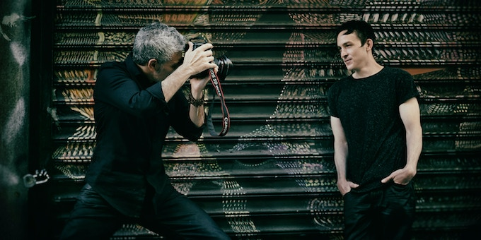 Photographing Actor Robin Lord Taylor [Gotham | The Walking Dead] New York 2015