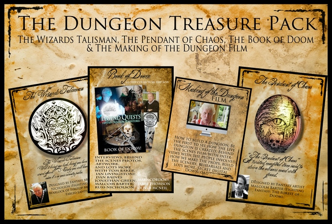 The Dungeon Treasure Pack