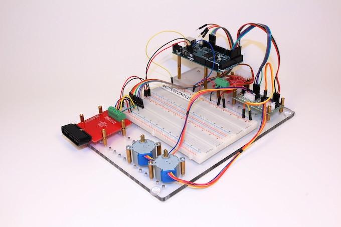 Arduino Stepper Motor Driver, Controllable using PSX Controller JIGMOD and JIGMOD XL Platform