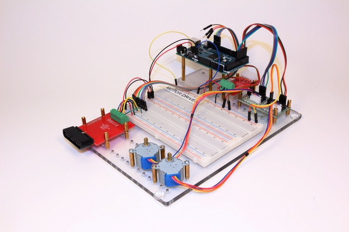 Arduino stepper motor driver controllable using psx