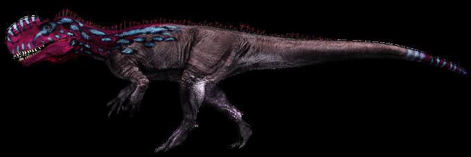 """monolophosaurus"""" poison dart frog"""""""