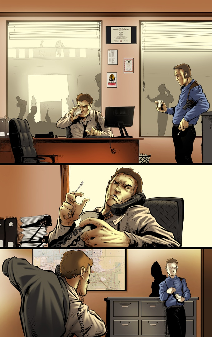 Issue #3, Page 1