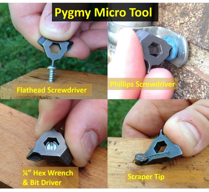 The Pygmy offers the functionality of much larger multitools!