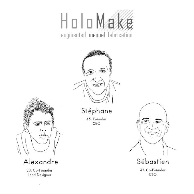 The QroKee / HoloMake team