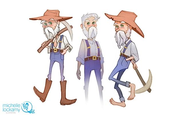 Burt the old-timer