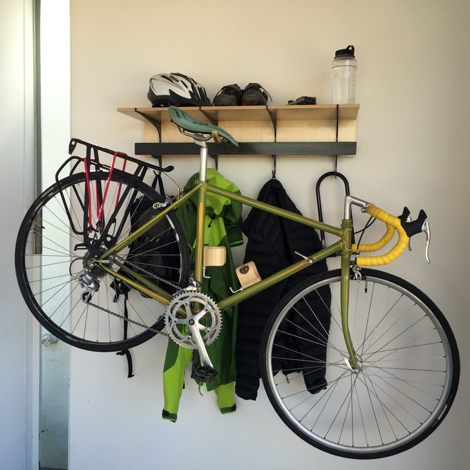 Double D Rack with bike arm