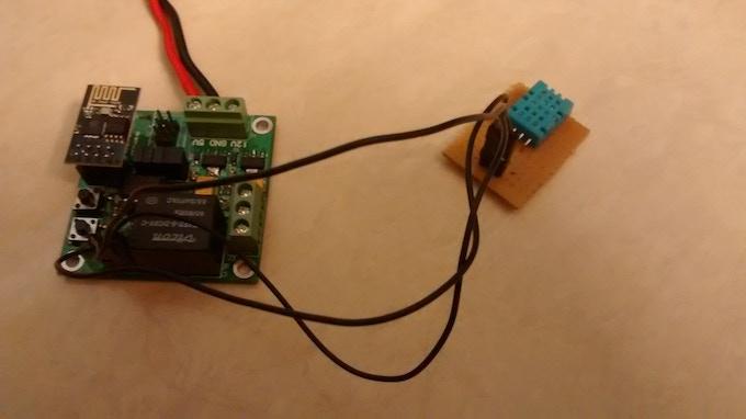 Wifi  Board with DHT11  Sensor
