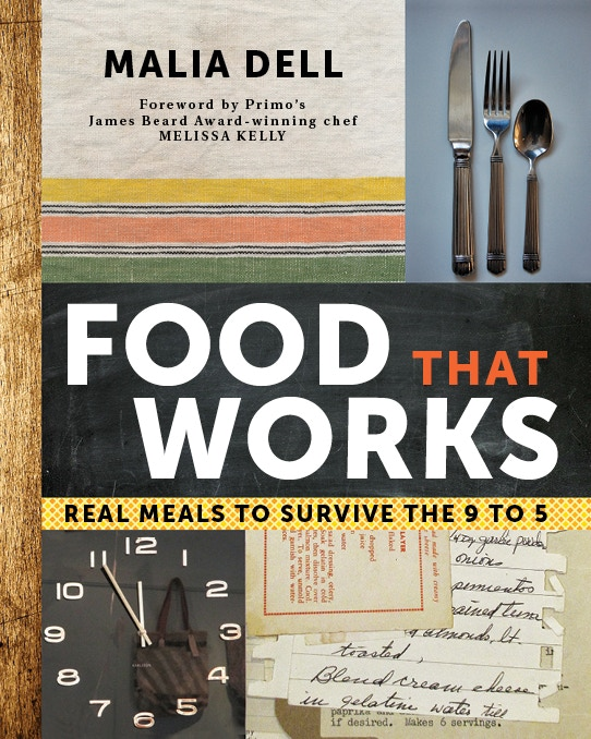 Food That Works is a cookbook for busy people. It organizes your fridge so healthy homemade meals are available on the fly Mon.- Fri.