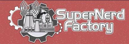 Featured on SUPER NERD FACTORY!