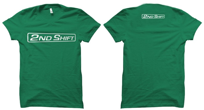 The 2nd Shift Logo Add $20 to your Reward Tier ($25 for $1-3 levels)