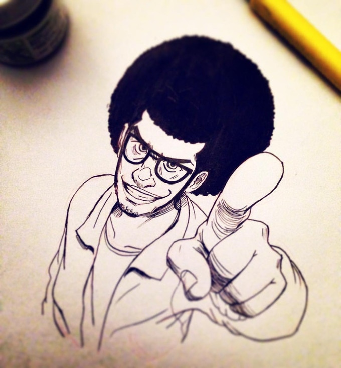 Ink Sketch by David Tako **SAMPLE**