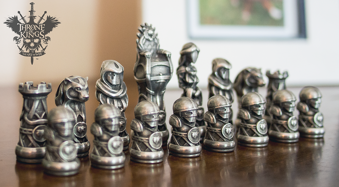 Throne of kings the art of war by studioqubed llc kickstarter - Ceramic chess sets for sale ...