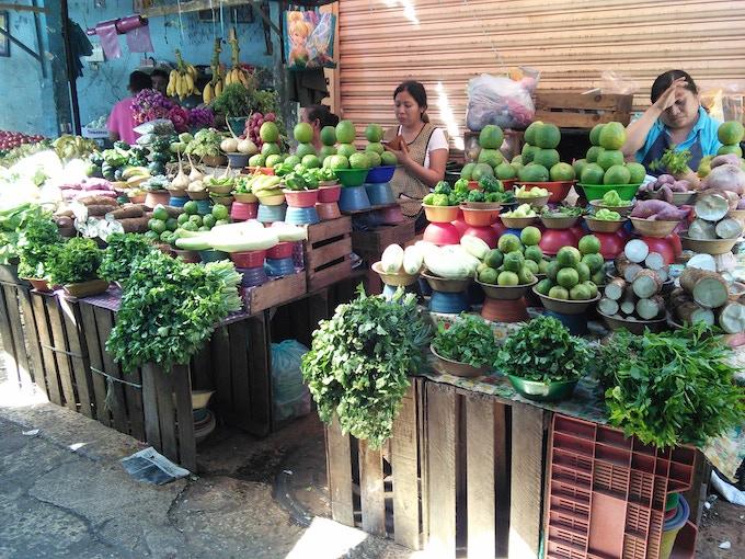 Mercado in Yucatán