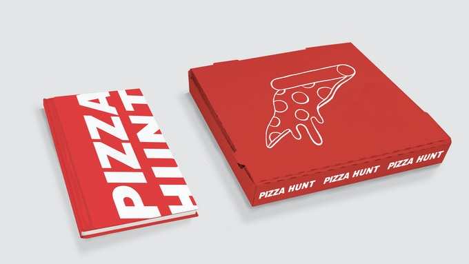 The special edition and custom pizza box clam shell