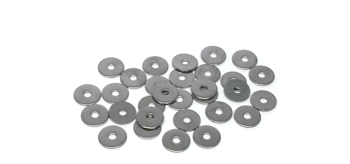 Your Keystone comes with 30 stainless steel spacers that allows you to turn out your keys smoothly.