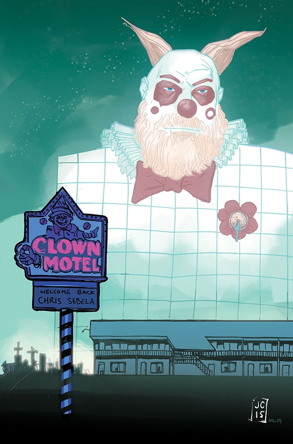 Clown Motel by Jason Copland, Colors by Marissa Louise