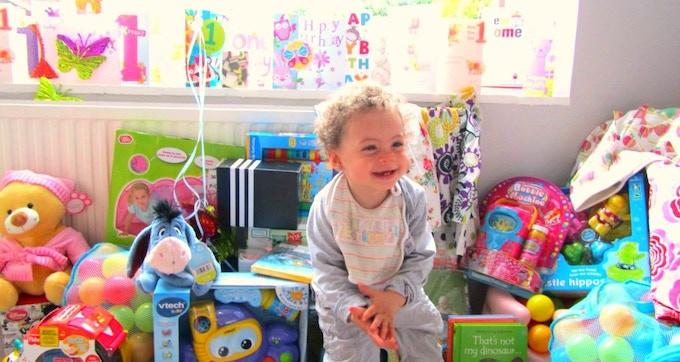Eden on her 1st birthday