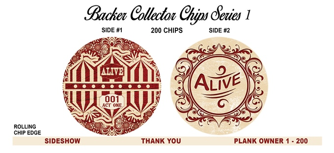 """JUST ADDED! Stretch goal """"Plank Owner"""" chip for our first 200 backers! Please check out our recent UPDATE for details!!"""