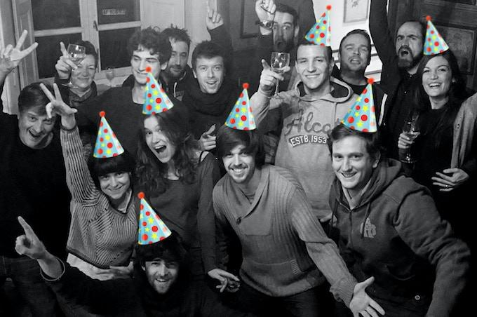 le FabShop team party
