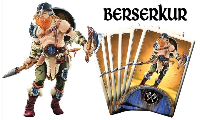 Berserkur - Your warrior